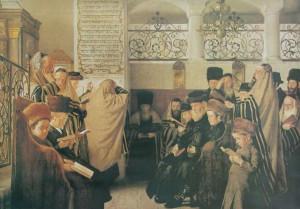 jour du pardon, yom kippour, à la synagogue