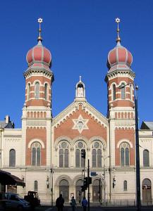synagogue vue exterieure