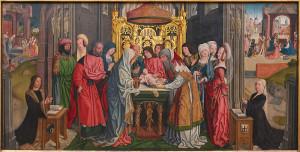circoncision du Christ; Meister der Heilige Sippe, Munich