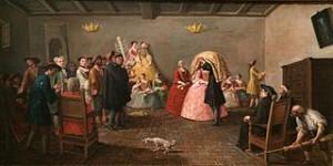 mariage juif;Venis, 1780