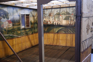 The Israel Museum. A sukkah. .